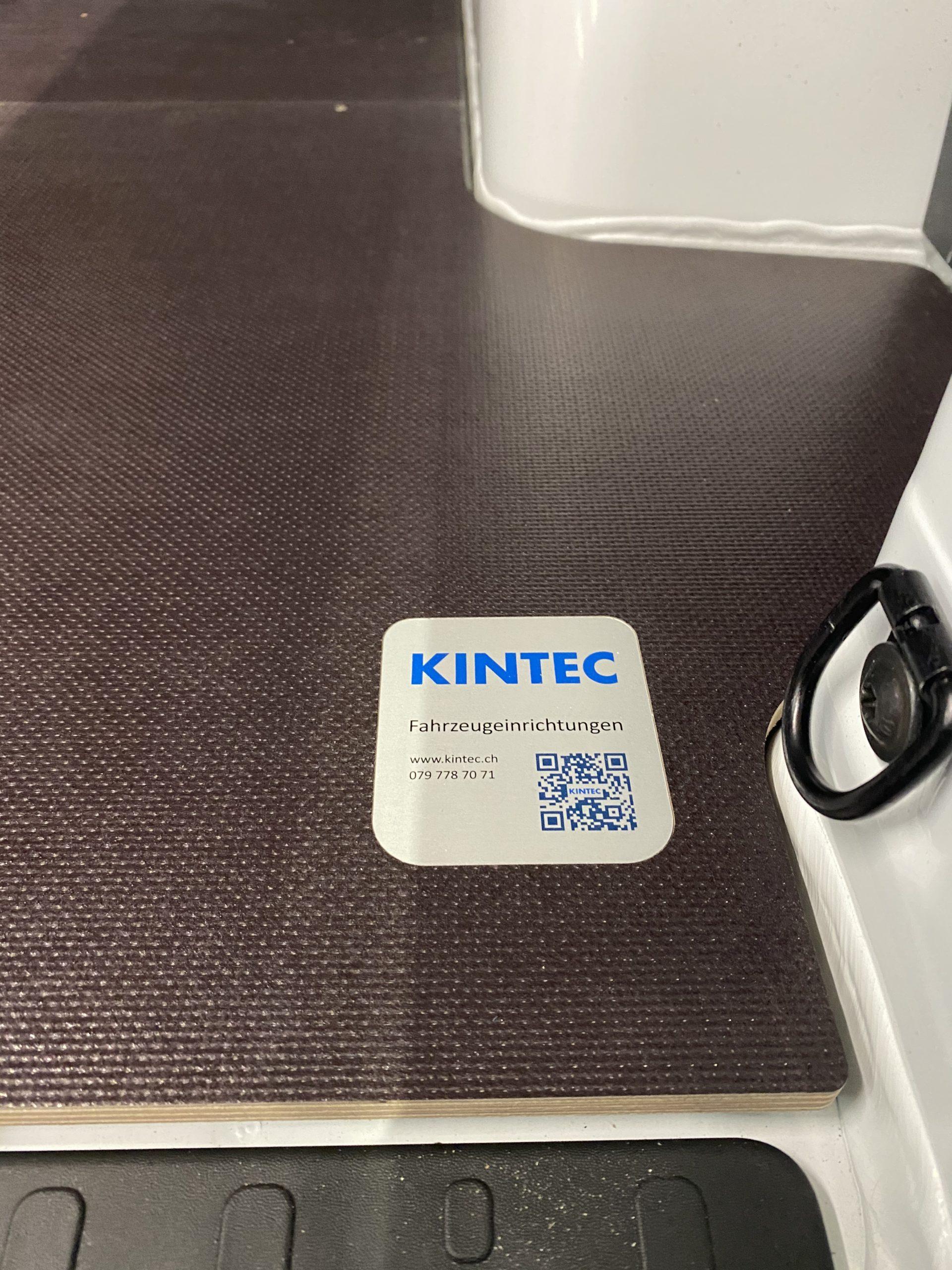 KINTEC CARGO Bodenplatte Talento Trafic